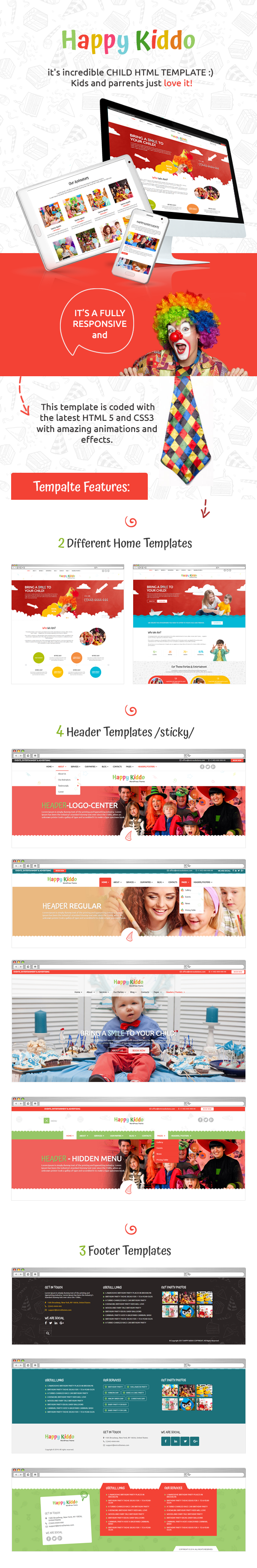 Happy Kiddo - Multipurpose Kids HTML Template - 1
