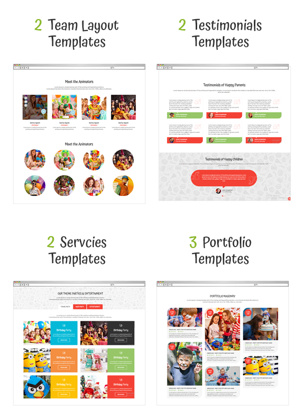 Happy Kiddo - Multipurpose Kids HTML Template - 2