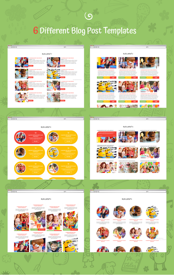 Happy Kiddo - Multipurpose Kids HTML Template - 4